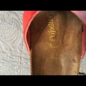 Birkenstock Shoes - Birkenstock red sandals